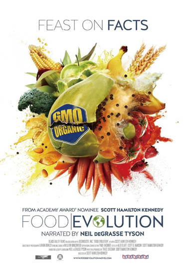 영화 '식량의 진화' 포스터.